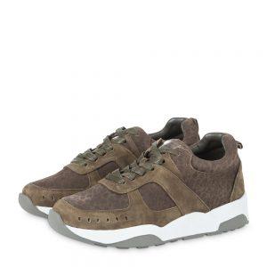Sneaker yaya grünbraun