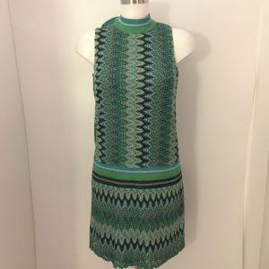 Grünes Mini-Kleid AnaAlcazar