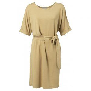 Kleid mit integriertem Gürtel