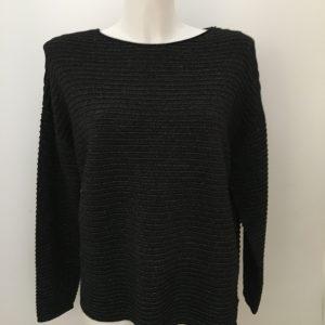 Strukturierter Glitzer-Sweater