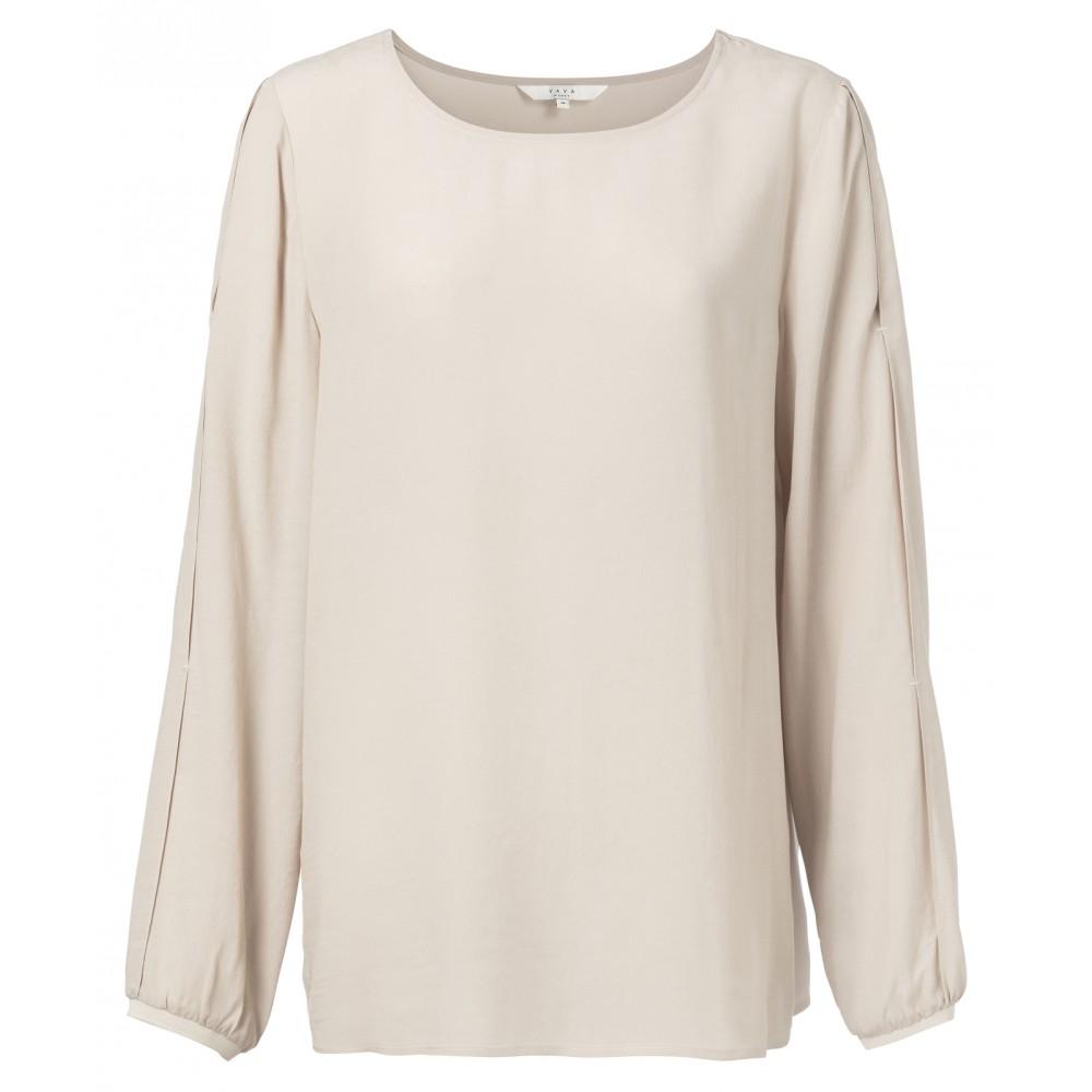 bluse-mit-plissierten-rmeln-1