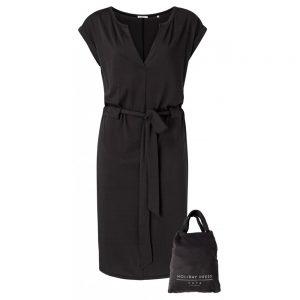 Jersey-Kleid mit Gürtel