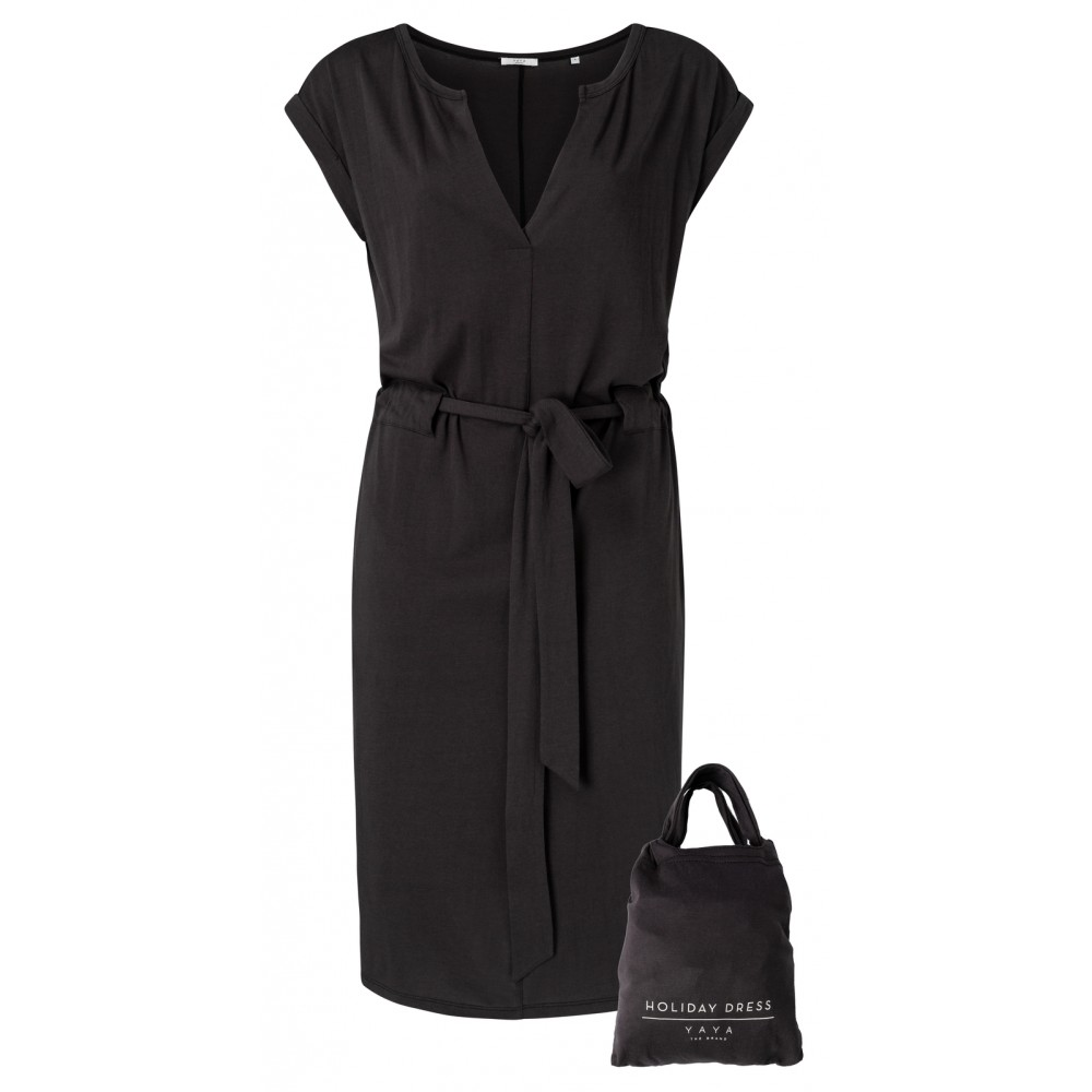 jersey-belted-dress-with-short-sleeves
