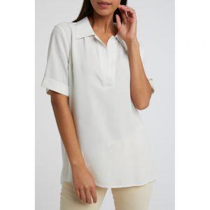 Poloshirt aus Lyocellmischung