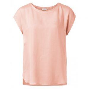 T-Shirt mit Rundsaum