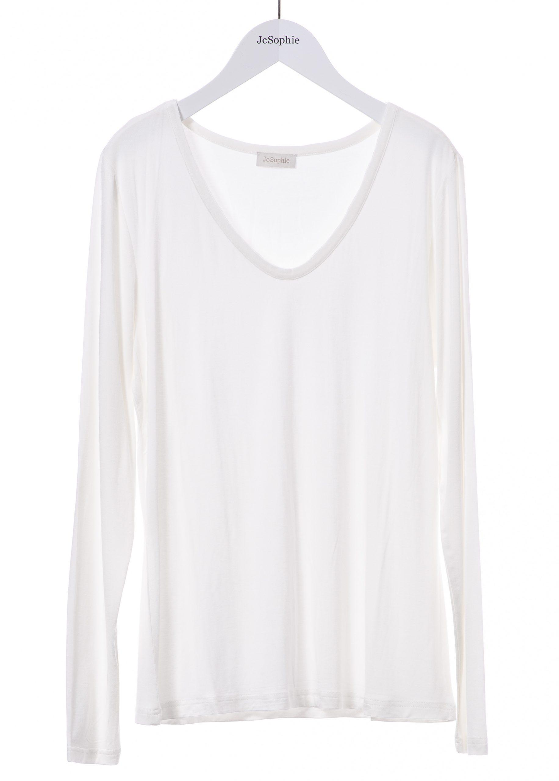 E7076 Evan t-shirt _ 101 off white