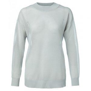 Pullover mit Lurexripp
