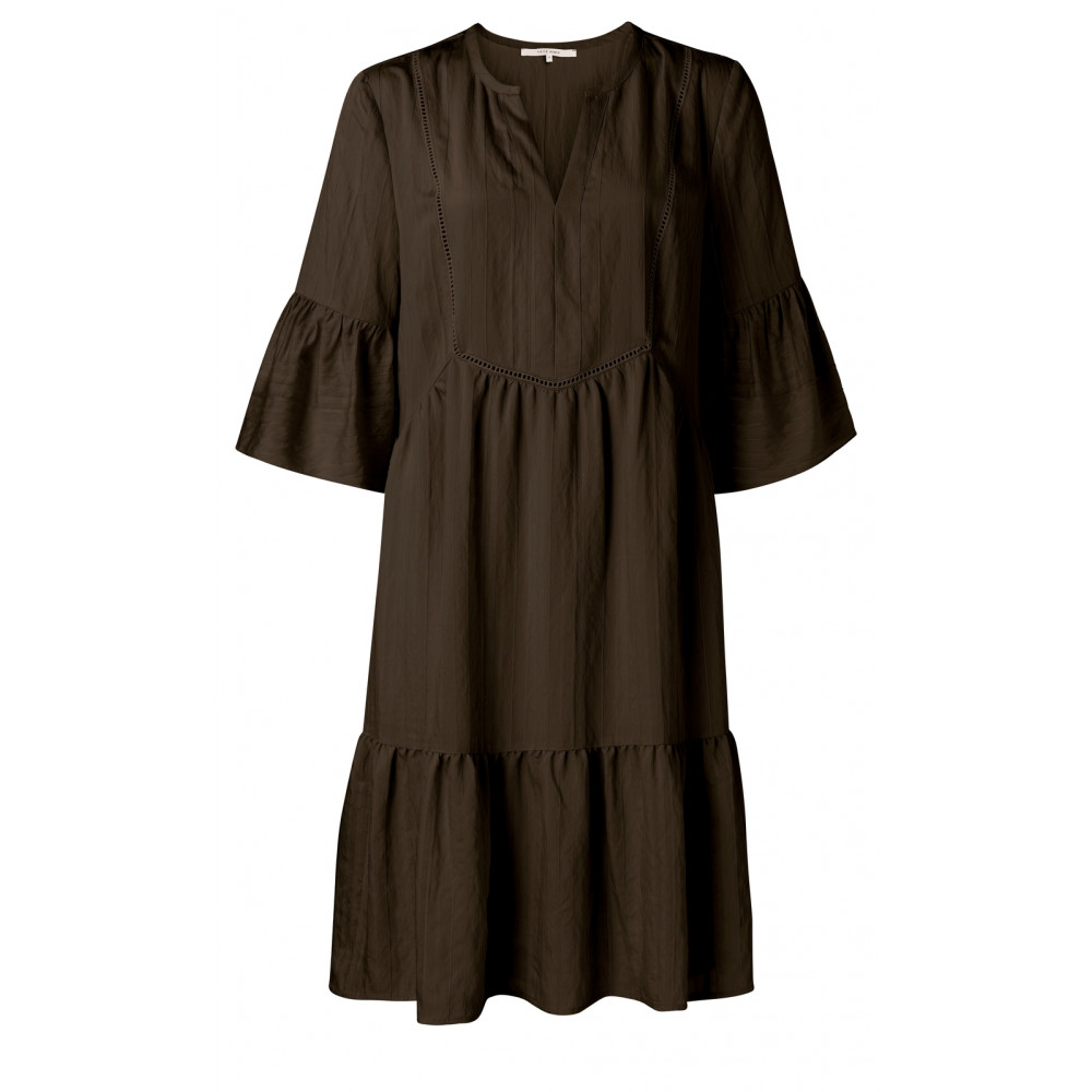 midi-a-line-dress-with-ruffles-in-viscose-mix
