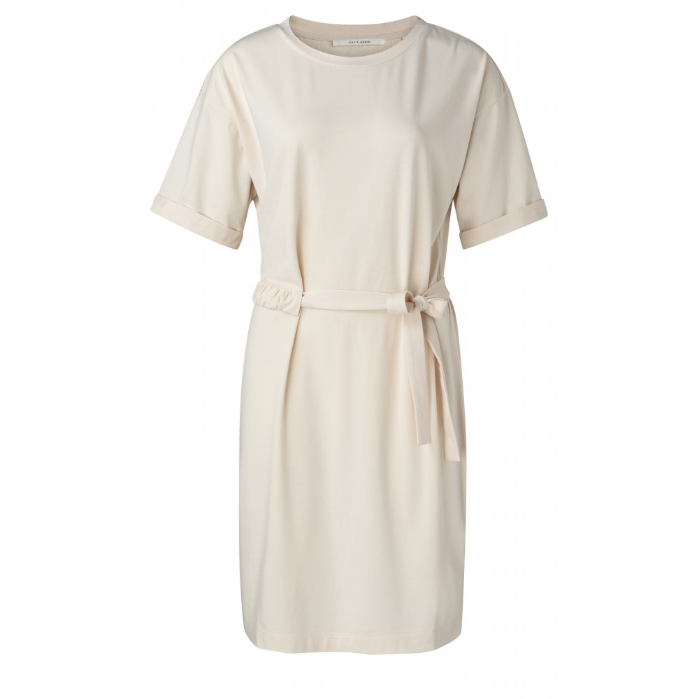 jesrey-dress-with-wrinkled-waist-cord-and-rolled-up-sleeves-2